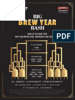 Big Brewsky - NYE Menu