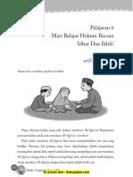 Pelajaran 6 Mari Belajar Hukum Bacaan Idhar Dan Ikhfa'