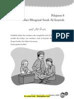 Pelajaran 8 Mari Mengenal Surah Al-Insyirah