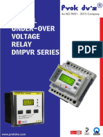 Digital Over Voltage _ Under Voltage Relay