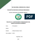 Practica 2 Comportamiento Termodinamico Del Aire en Un Proceso Isotermico