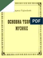 Osnovna teorija muzike - Marko Tajcevic (1962).pdf