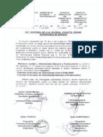 Act Aditional nr. 3 la Acordul Colectiv privind Raporturile de Serviciu (2010)