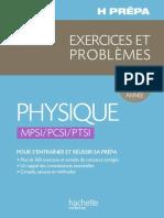 H-Prepa Exercices Problèmes Physique