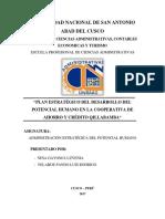 Universidad Nacional de San Antonio Abad Del Cusco Trbajo Potencial