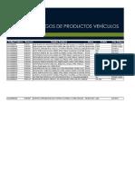 Tabla-Códigos-de-Productos-Vehículos-Julio-2017