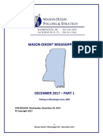 Mason Dixon Mississippi Poll 122017