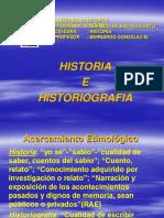 Historia de La Historiograf A