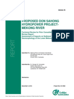 Annex G Sediment Report