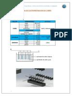 Celda de Eletrorefinación de Cobre - Ficha Tecnica