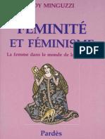 Féminité Et Féminisme - EDY MINGUZZI