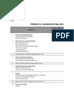 Modelo de Liquidacion de Contrato de Obra - Mtc
