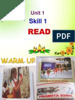 Unit 01 My New School Lesson 5 Skills 1