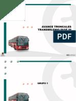 Avance Troncales Fase III TM