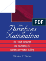 (S U N Y Series in National Identities.) Chimene I. Keitner-The Paradoxes of Nationalism_ The French Revolution and Its Meaning for Contemporary Nation Building-State University of New York Press (200.pdf