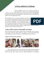 Reasons of Drug Addiction1