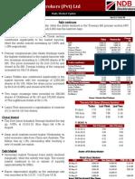 Daily Market Update 01.09
