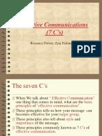 7cs of Communication Imp