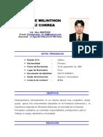 Cv Enrique Ortiz