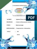 Fichas Bibliograficas Con Estilo Apa