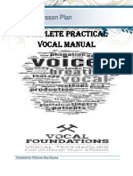COMPLETE PRACTICAL VOCAL MANUAL by Chisomo Dan Kauma