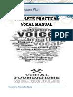 COMPLETE PRACTICAL VOCAL MANUAL by Chisomo Dan Kauma