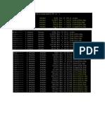 Running Config Screenshot