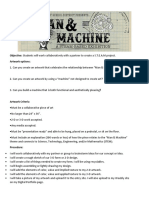 man and machine project