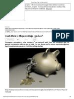 Cash Flow o Flujo de Caja ¿Qué Es