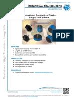 Vishay Rotational Transducers - Single Turn