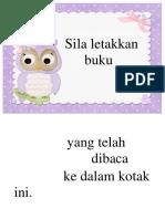 Labelmasukkan Buku Dlm Kotak