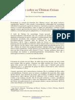 Calvino Escatologia Crampton