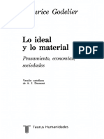 Godelier Maurice - Lo Ideal Y Lo Material