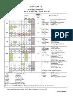 Academic Planner B.tech_II, III & IV-II Sem_2017-18