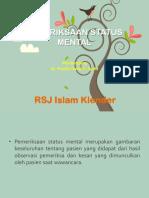 Pemeriksaan Status Mental - Dr. Pasila