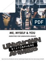Unknown Armies - Stratosphere - Me, Myself & You
