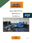 Mygale M14 F4 Ford User Manual V1.4 MSA Formula4