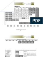 Mapa curricular de la licenciatura en Arquitectura 2015