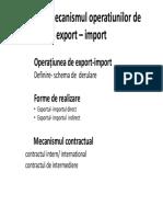 Curs 2 Mecanismul Operatiunilor de Export e28093 Import