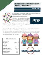 FRC 2018 Winter Newsletter