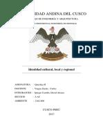 Identidad Cultural Quchua