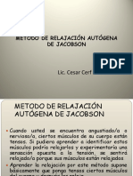 RELAJACIÓN AUTÓGENA DE JACOBSON 3.ppt