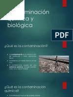 Contaminación Química y Biológica