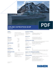 Product Sheet Expedition Cruise Ship