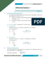 Differential Calculus 1