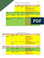 Cronograma de Aciones Pme 2017