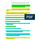 Requisitos Para La Creación de La Academia de San Cristobal y El Punto