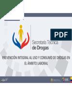 Unidad 2 Curso SETED Drogas ambito laboral Ecuador