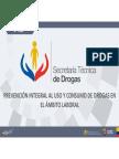Unidad 4 Curso SETED Drogas ambito laboral Ecuador