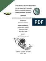 3er Informe Ope.uni Intercambiadores